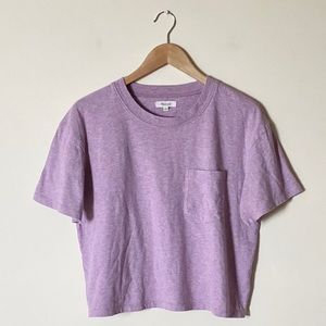 Madewell Easy Crop Tee